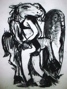 Napoleon Brousseau erotic art, Venus sextile Neptune