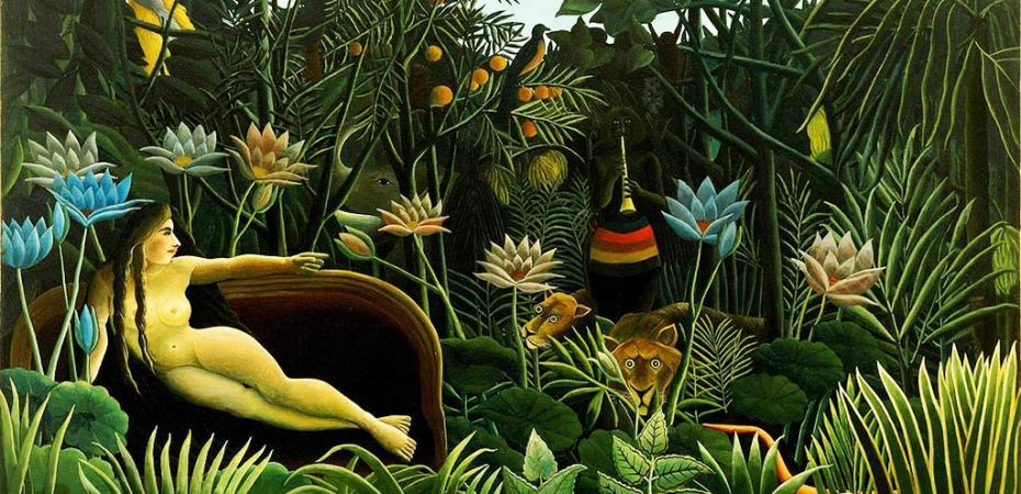 The Dream by Rousseau, Venus inconjunct Saturn, Tara Greene