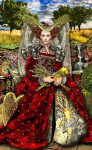 The Empress #3, Tarot cards, astrology Tara Greene