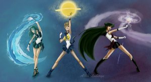 Sailor Moon planets Tara Greene