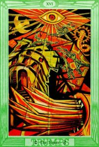 The Tower 9/11 tarot tara greene